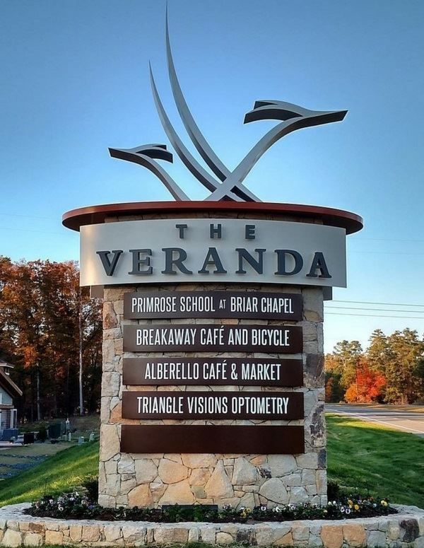 Veranda Sign Panels