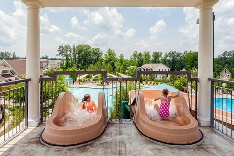 Pool with Kids on Slides.jpg