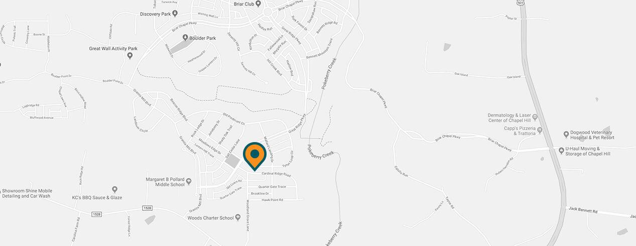 Community Map | Briar Chapel NC on