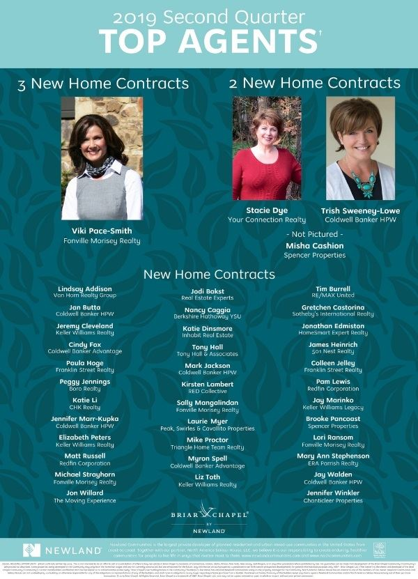 Agents & Broker Information | Briar Chapel by Newland